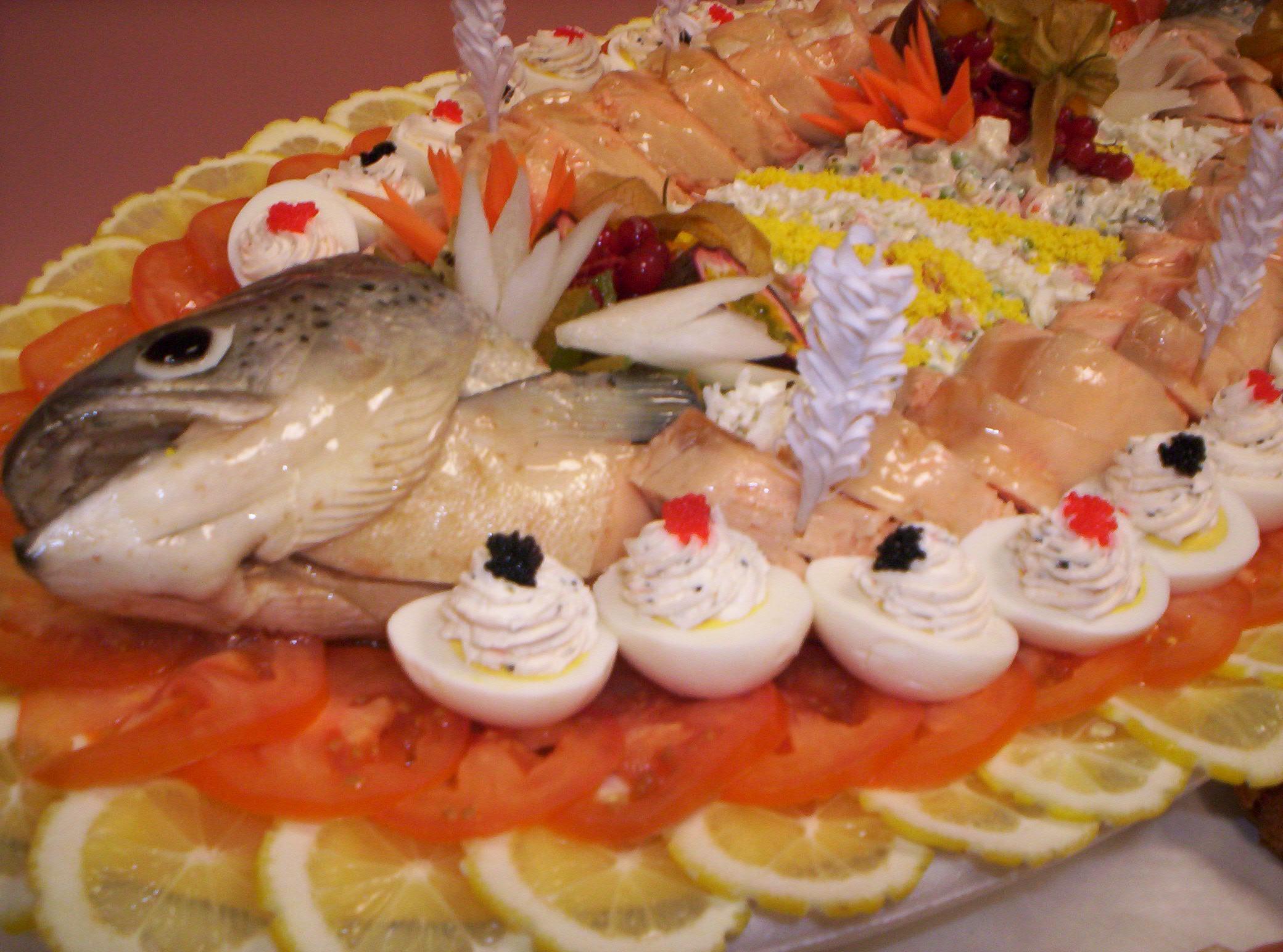 plat de saumon